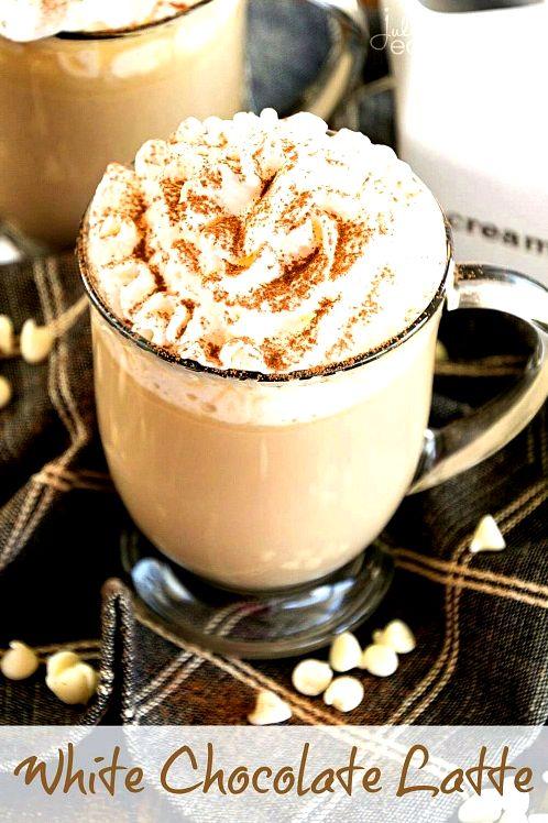 10 Fabulous Coffee Recipes- White Chocolate Latte