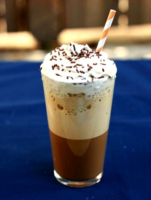 10 Fabulous Coffee Recipes- Homemade Blended Iced Coffee