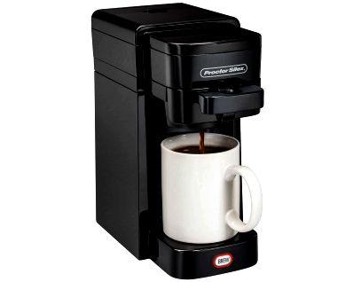 Single-Serve Coffee Maker (black)-49961