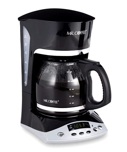 Coffee makers the coffee before you