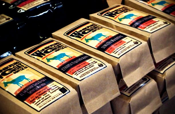 Coffee preparation - the wandering goat every to