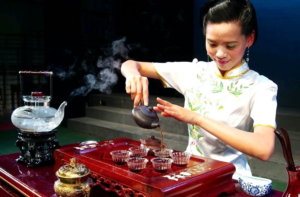 For that tea in china, is coffee overtaking? tea consumption