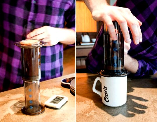 Gifts for coffee-enthusiasts under $60 Over-Glass-Coffee