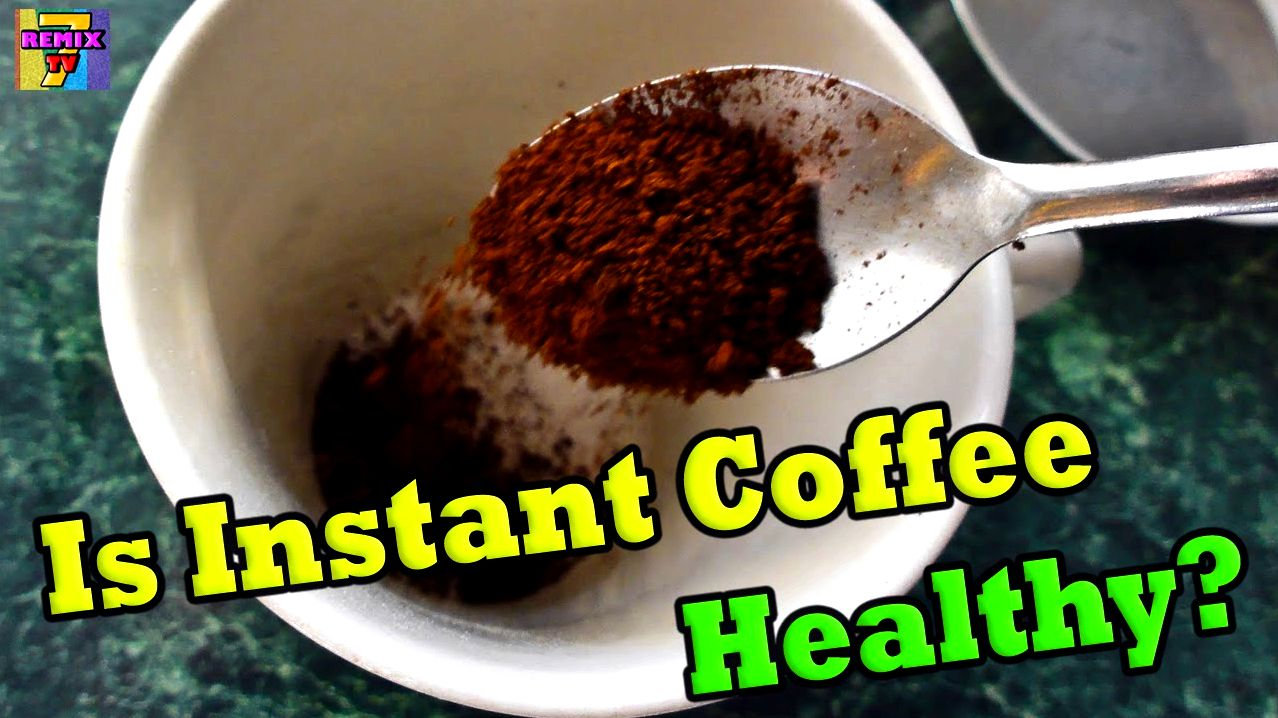 Instant coffee benefits coffee, like