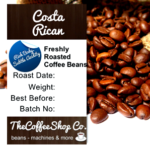 Our freshly roasted coffee