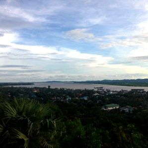 The town of Mawlamyine in Myanmar