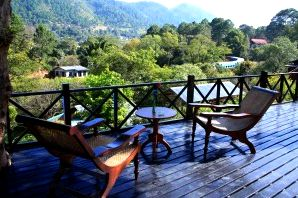 View from Kalaw Heritage Hotel Balcony