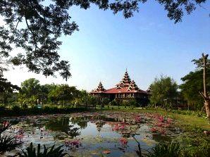 Mrauk U hotel - Mrauk U Princess Resort view