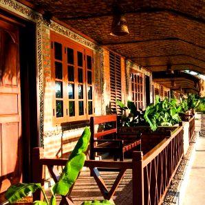 Rooms at Hsipaw Resort in Myanmar