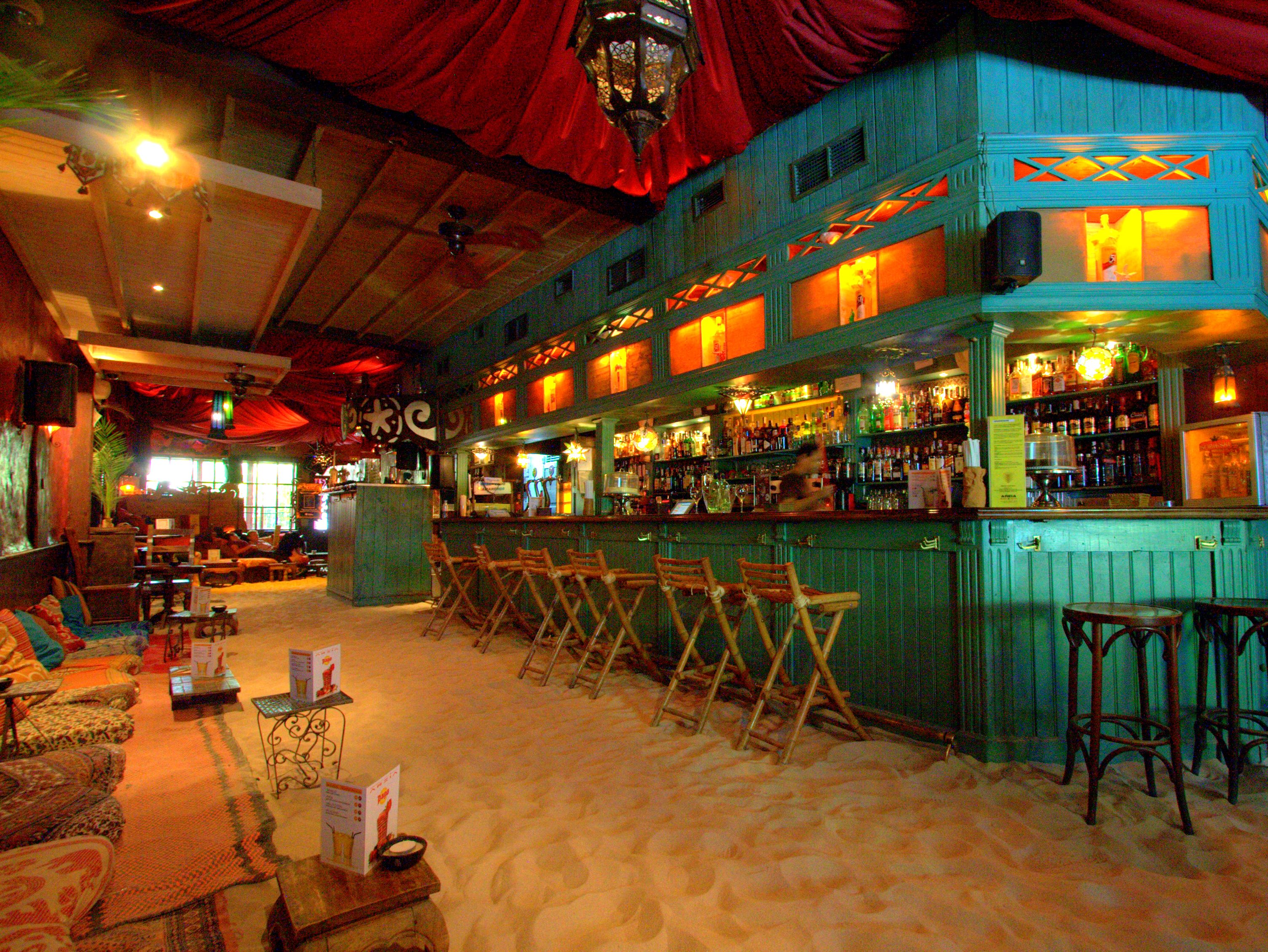 Sand bar indoor beach - inspired naturally study, read