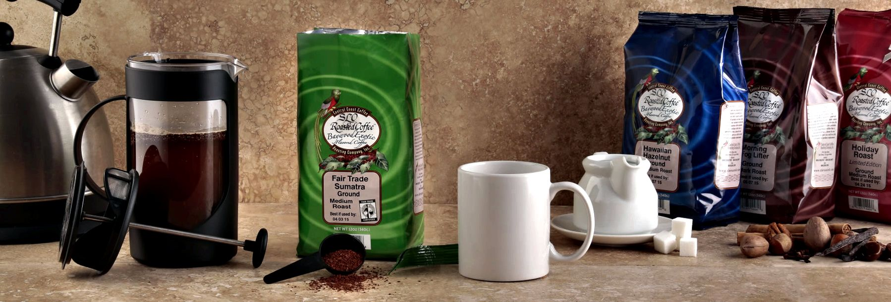 Our Most Popular Roasts in 12oz. Bags