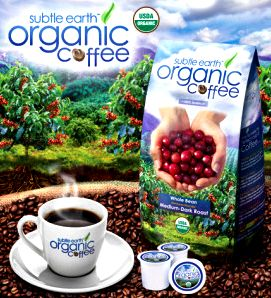 Subtle Earth Organic Coffee 2LB Bag
