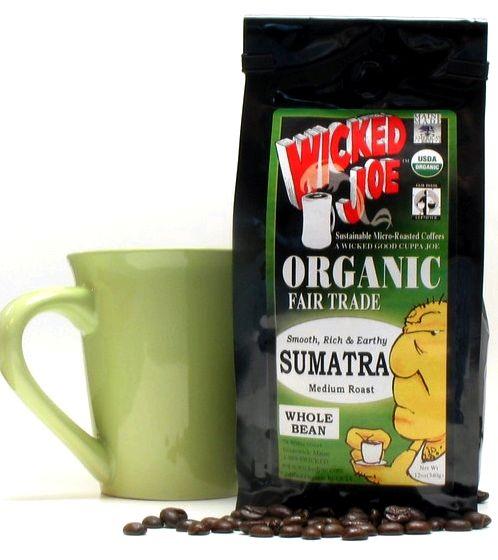 Sumatra - organic coffee - grampa's garden Hard Bean coffees at