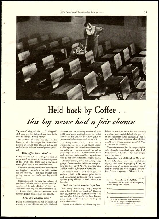 The devious marketing campaign that convinced america coffee was dangerous to kids - the atlantic convinced-america-coffee-was-bad