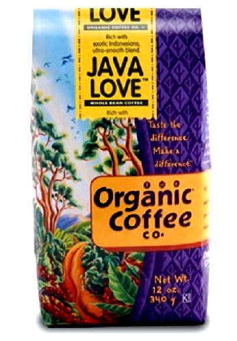 The organic coffee co ground coffee java love -- 12 oz - vitacost learned within my vegan