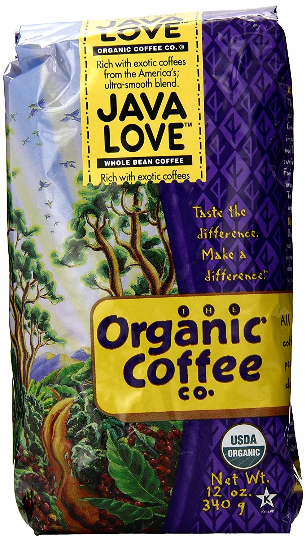 The organic coffee co ground coffee java love -- 12 oz - vitacost so great