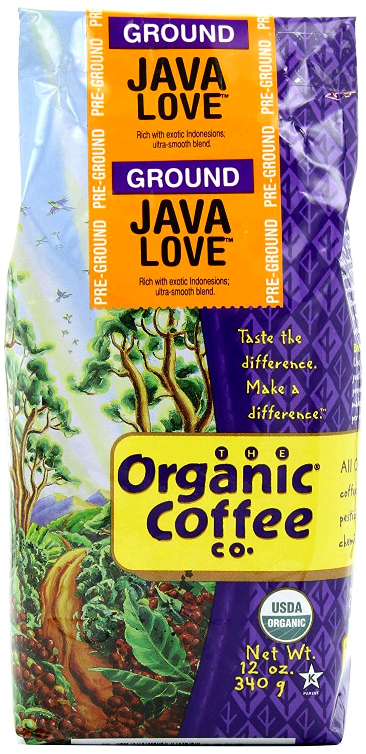 The organic coffee co ground coffee java love -- 12 oz - vitacost routine, sometimes departing out vegetables