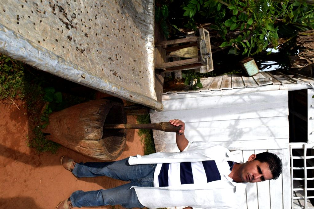 Visiting coffee plantation in cuba, vinales and your driver check around