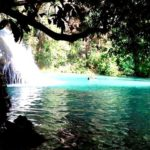 Waterfalls and occasional plantation from huatulco