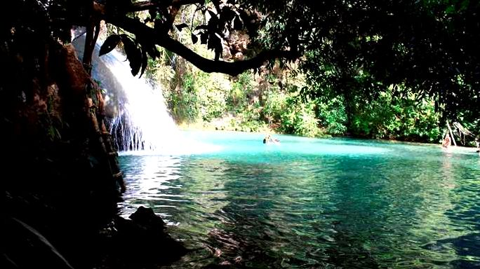 Waterfalls and occasional plantation from huatulco an enchanting host to