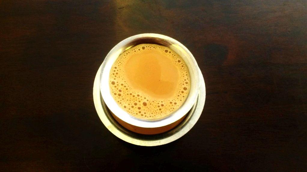 Masala chai in Indian restaurant in Malaysia