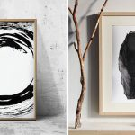 Strategies for Rocking White and Black Wall structure Art work